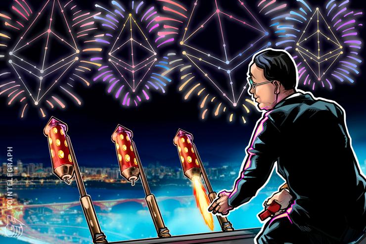 Koreanischer Friedensvertrag für immer auf Ethereum-Blockchain