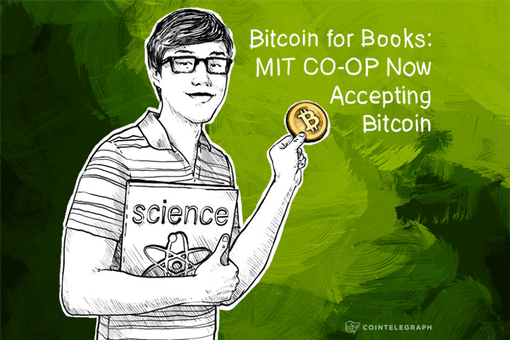 Bitcoin for Books: MIT CO-OP Now Accepting Bitcoin