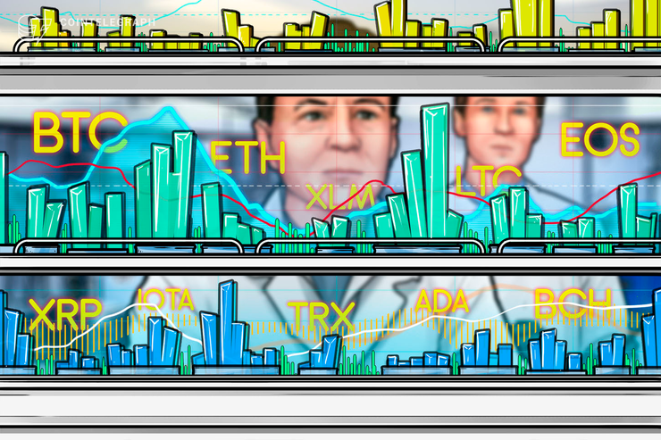 7月11日 人気仮想通貨10種のテクニカル分析!