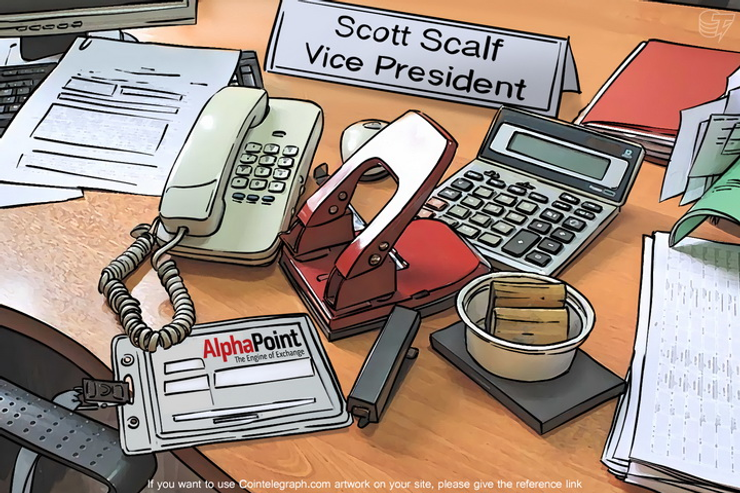 Industry Veteran Scott Scalf Joins AlphaPoint To Develop Blockchain And Related Technologies