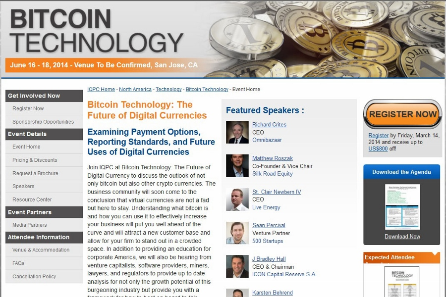 Bitcoin Technology Conference Will Hit San Jose in June