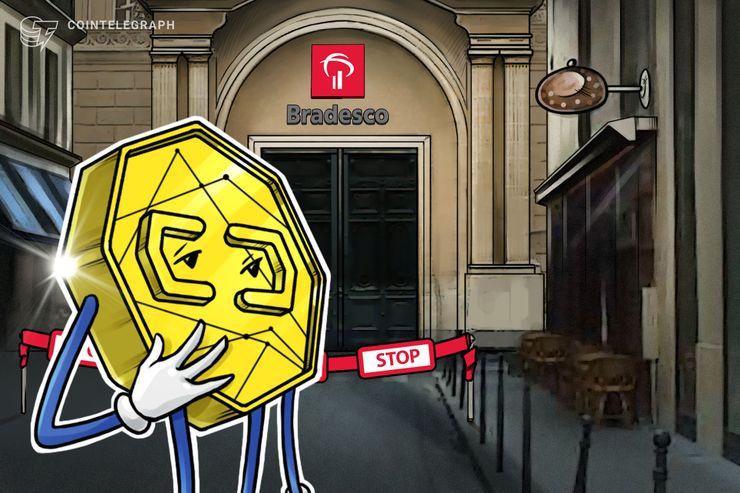 Informe: banco brasileño Bradesco cierra las cuentas de exchange de criptomonedas local y las de sus propietarios