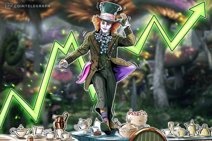Crypto Markets See Green: ETH Breaks Solidly Above $400, BTC Nears $7,000