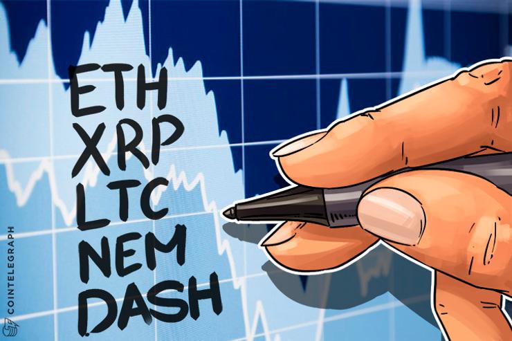 Monedas Alternas: Resumen de Julio. Ethereum, Ripe, Litecoin, NEM, Dash