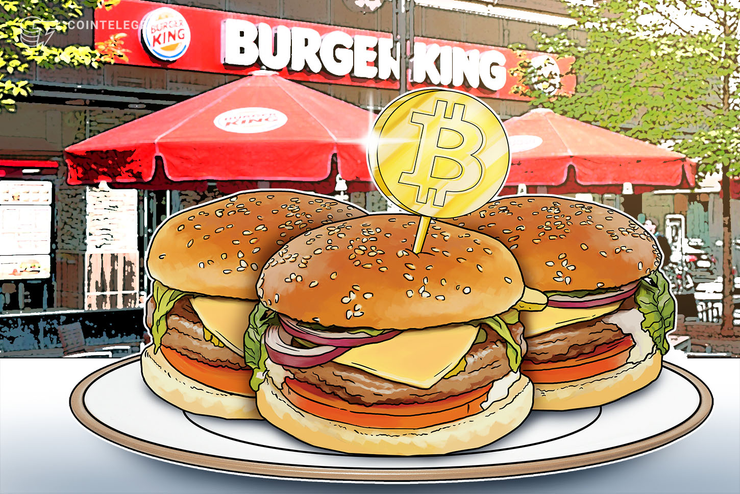 Burger King Starts Accepting Bitcoin for Online Orders in Germany