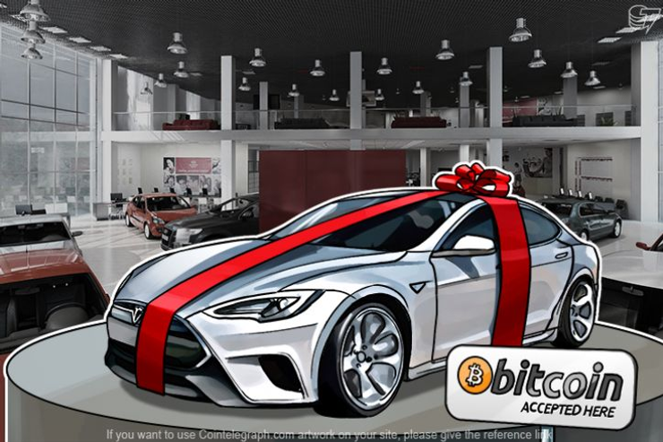 Tesla S Owner Uses Their Car to Mine Bitcoin