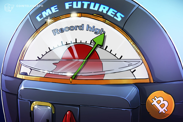 Open Positions on Chicago Mercantile Exchange Bitcoin Futures Hit Record High