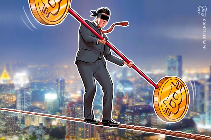 ビットコインのボラティリティ 仮想通貨市場が急落した去年11月以来の低水準
