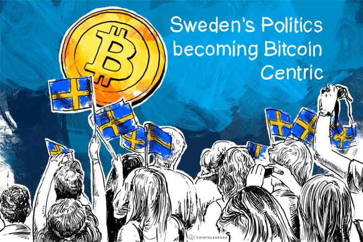 Sweden's Politics becoming Bitcoin Centric