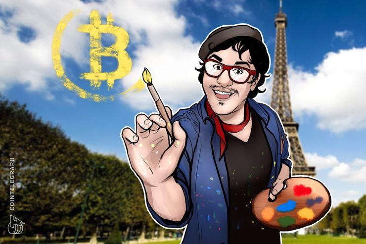 """La """"Búsqueda del tesoro"""" de París valora el premio Bitcoin: 1.000 dólares en un mural"""