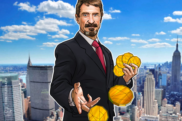 Tax 'Fugitive' and Crypto Bull John McAfee Announces New Privacy Coin
