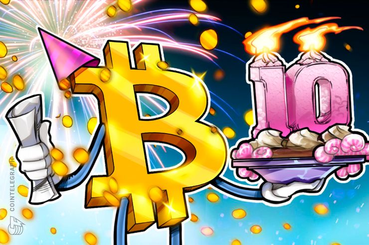 Bitcoin Turns Ten on Anniversary of Genesis Block