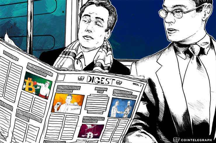 APRIL 3 DIGEST: Spain Makes First Bitcoin Related Arrest, Legal Fight Unfolds Involving Ripple, Bitstamp and Jed McCaleb