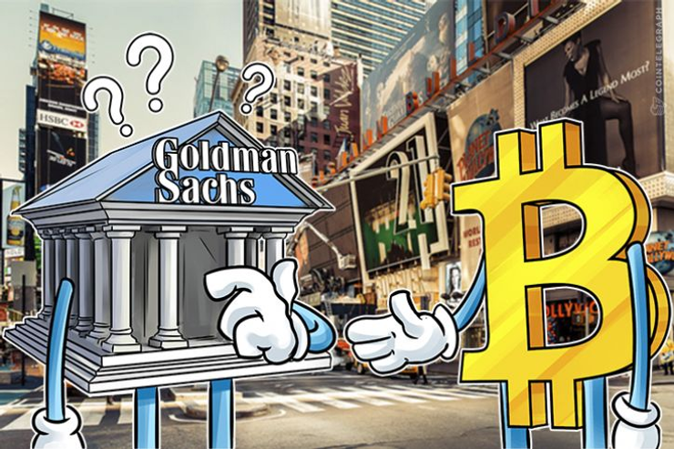 ゴールドマンサックスCEO「ビットコインうまくいくか未知数、確立されたら戦略考える」