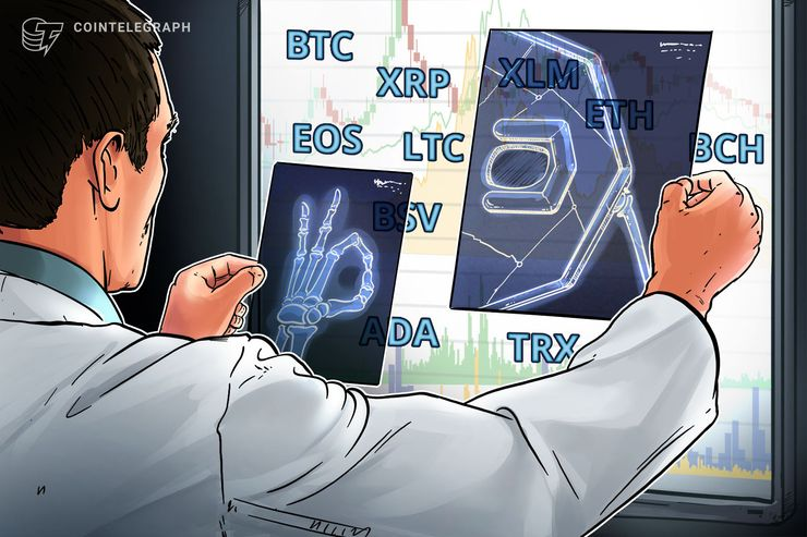 Bitcoin, Ripple, Ethereum, Stellar, Bitcoin Cash, Bitcoin SV, EOS, Litecoin, TRON, Cardano: Price Analysis, Dec. 10
