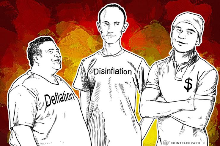 Deflation vs. Disinflation vs. USD strength