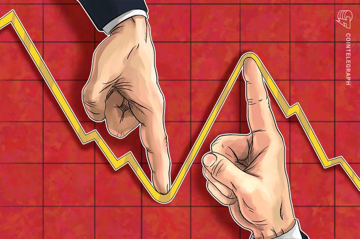 Rally de preço de Bitcoin para US $ 9 mil em perigo pois um padrão duplo superior aparece