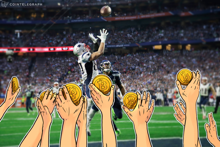 Excitação do Bitcoin nos Playoffs da NFL