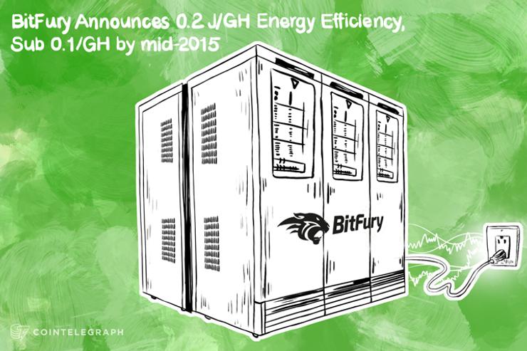BitFury Claims 0.2 J/GH Energy Efficiency, Plans sub-0.1 J/GH by Mid-2015