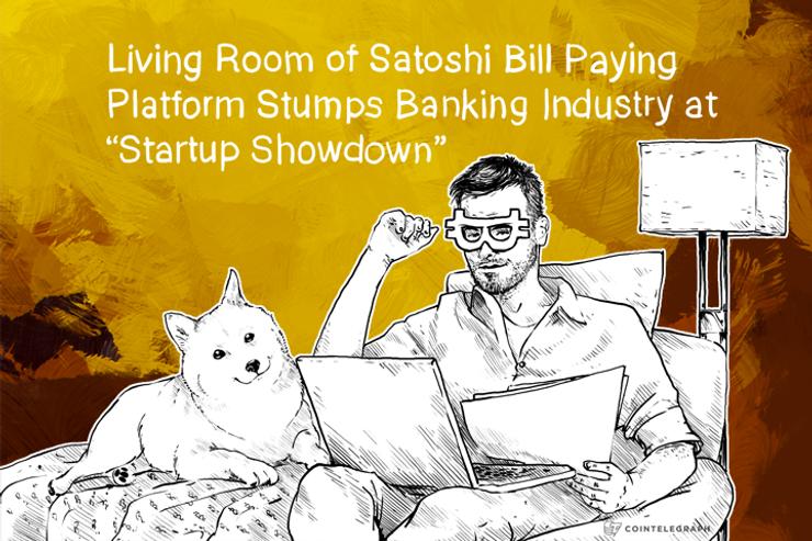 "Living Room of Satoshi wins Banking Industry ""Startup Showdown"""