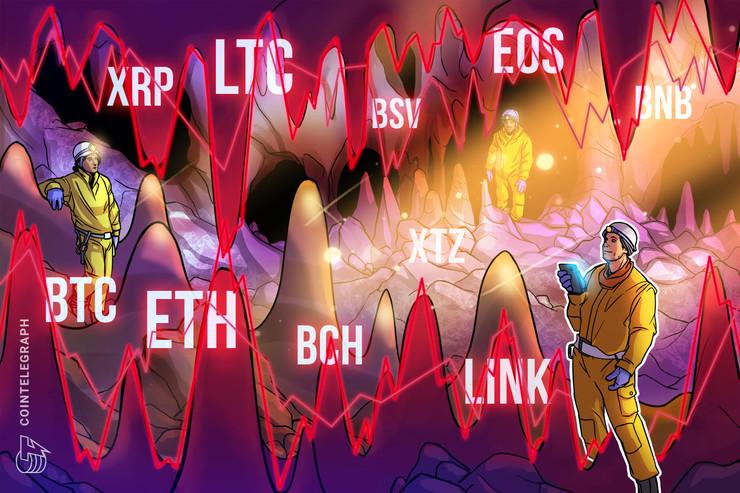 Análisis de precios al 4 de marzo: BTC, ETH, XRP, BCH, BSV, LTC, EOS, BNB, XTZ y LINK