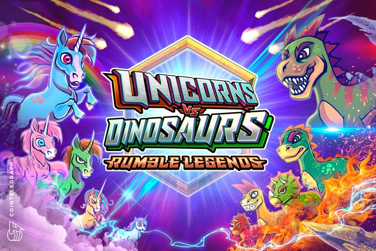 Fantastical Legends are Ready to Battle! Customisable Creatures Hatch Into Unicorns Vs. Dinosaurs - Rumble Legends