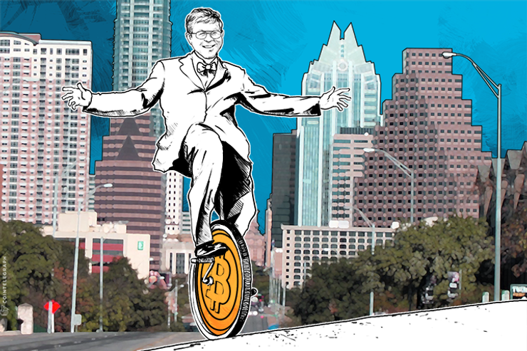 Paul Snow Rides 21 Miles on a Unicycle to Texas Bitcoin Conference