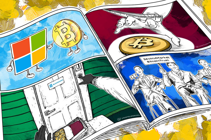 Weekend Roundup: Microsoft Is In, Stolen BTC Returned to Blockchain.info, and Russia Goes After Cryptocurrencies Again