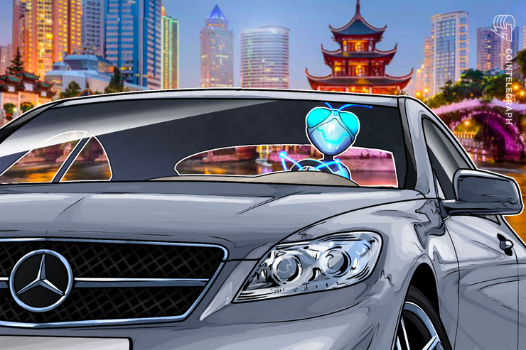 Mercedes-Benz in China Joins PlatOn for Blockchain Used Car Data
