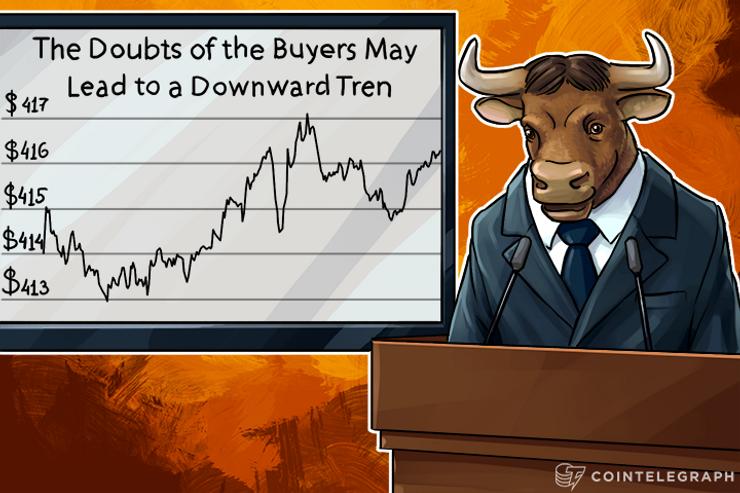 The Doubts of the Buyers May Lead to a Downward Trend