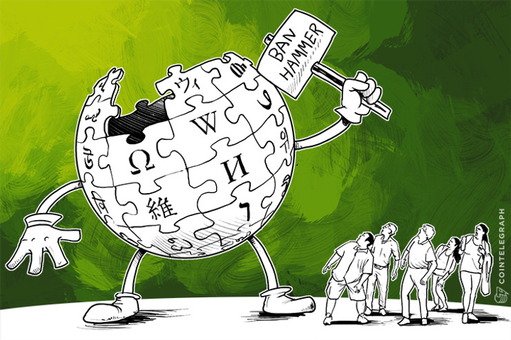Wikipedia Bans Hundreds of Editors Who Extorted Bitcoin Casinos, Others