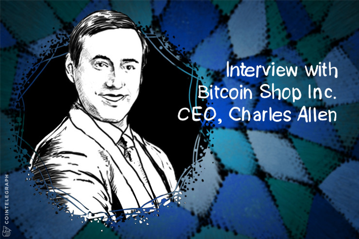 Bitcoin Shop Acquires Additional Equity in Coin Outlet; Interview with CEO, Charles Allen