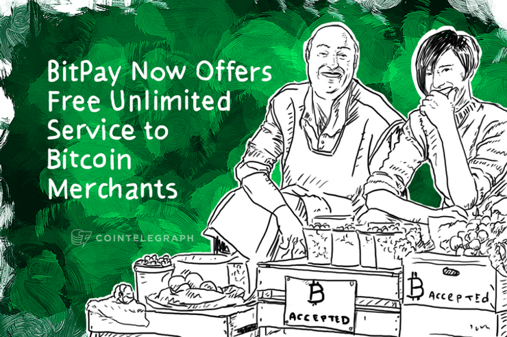 BitPay Now Offers Free Unlimited Service to Bitcoin Merchants