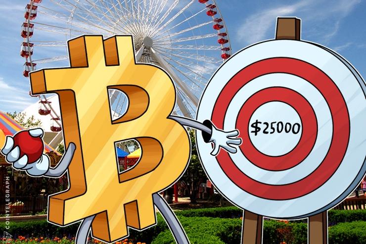 Stage Set For $25,000 Bitcoin Price: Macroeconomist