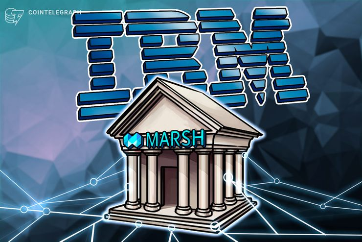Marsh confirma parceria de seguro com a Blockchain IBM para incluir a Salesforce