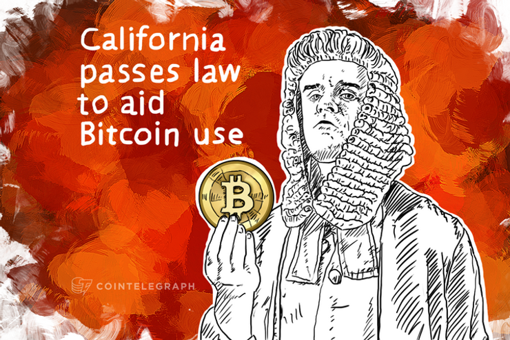 California passes law to aid Bitcoin use