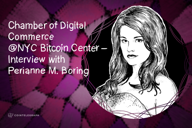 Chamber of Digital Commerce @NYC Bitcoin Center with Forbes Columnist, Perianne Boring