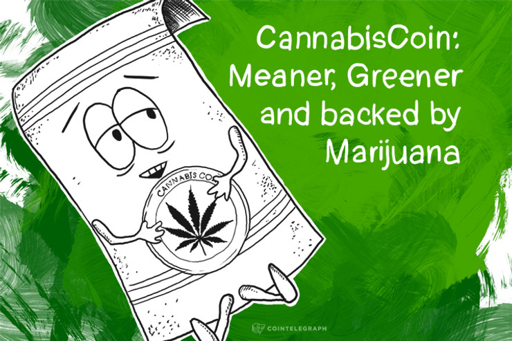 CannabisCoin: Meaner, Greener and backed by Marijuana