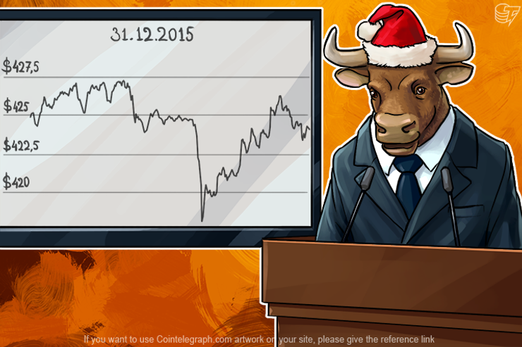 Bitcoin Finishes the Year with a Plus