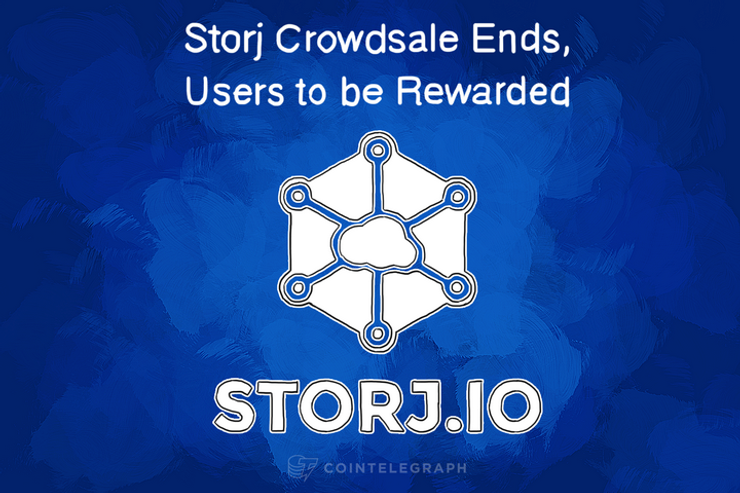 Storj Crowdsale Ends, Users to be Rewarded