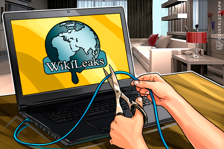 US Pressures Ecuador to Cut Off Wikileaks Internet During Colombia Negotiations