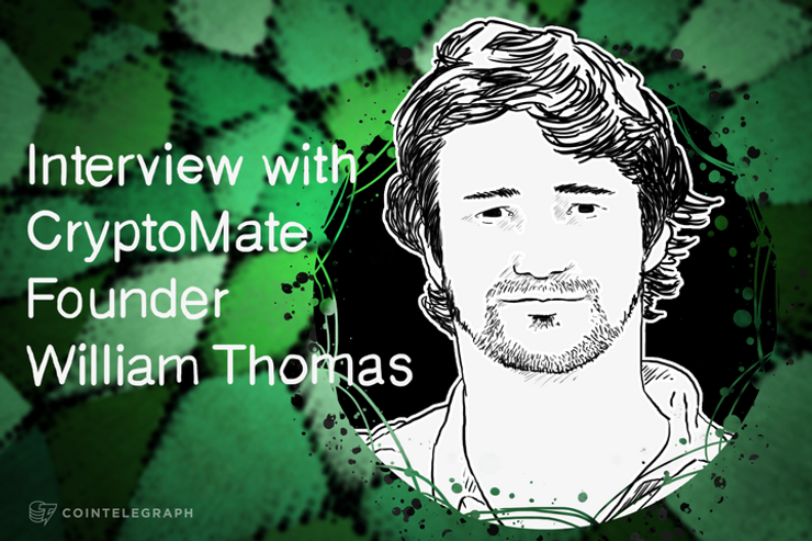 Founder william thomas cointelegraph