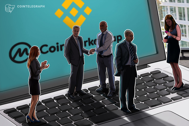 Crypto Community Largely Approves of Binance Acquiring CoinMarketCap thumbnail