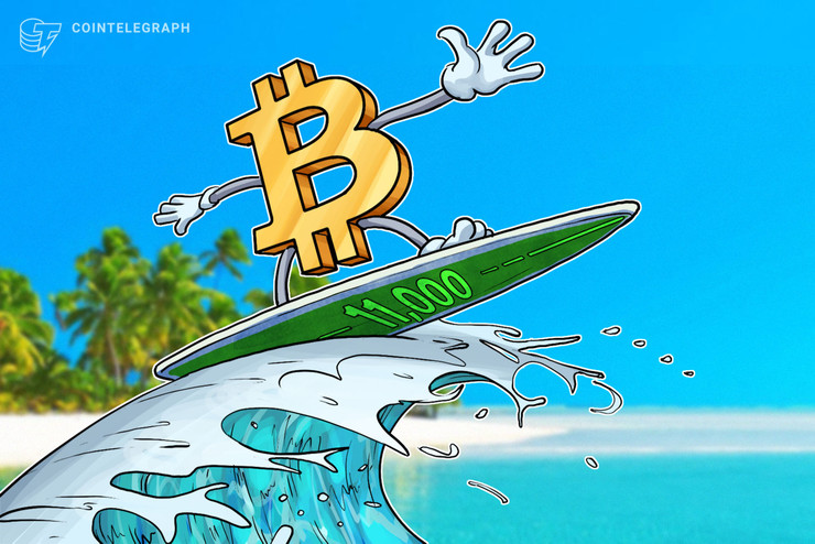 1万ドル突破の仮想通貨ビットコイン、FOMOが来れば「1万1000ドル以上への上昇も」