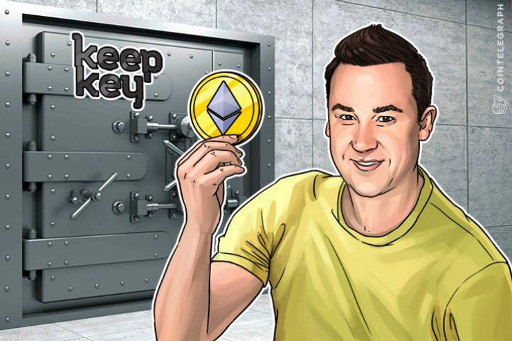 ハードウェア・ウォレットKeepKeyが、ビットコイン、アルトコインに続きイーサリアムに対応