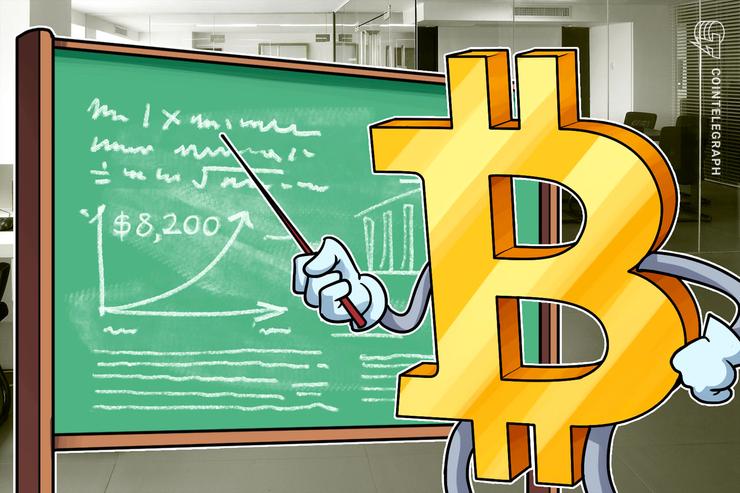 Bitcoin toca los USD 8,200, el oro alcanza su punto más alto desde abril