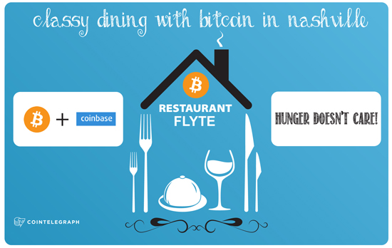 Classy Dining with Bitcoin in Nashville