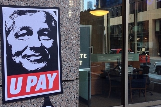 Bitcoin Graffiti pops up on ATMs, Apple Buses in SF