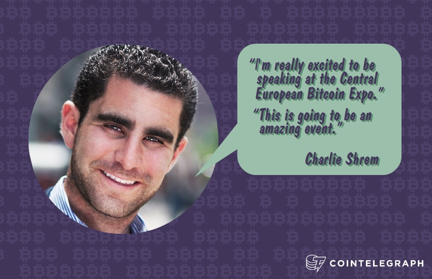 Charlie Shrem Tops the List of Speakers at CEBE 2014