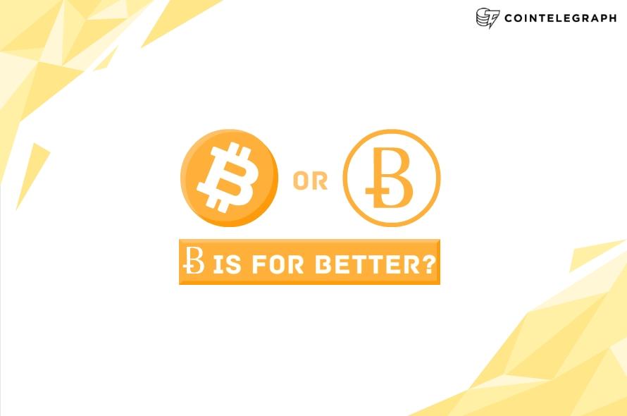 Does Bitcoin deserve a better symbol?